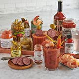 Lobster Gram - Blood Mary Bar - Fresh Jumbo Shrimp and gourmet ingredients - Fresh and Fast Delivery - From the No. 1 Seafood Food Delivery Company- Makes up to 16 Bloody Mary's