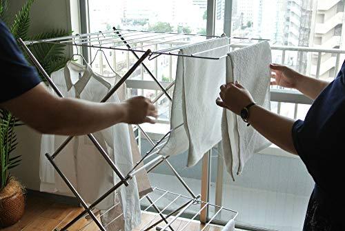 お気に入りの室内干しがあれば、洗濯の時間がもっともっと楽しいものになりそうです。