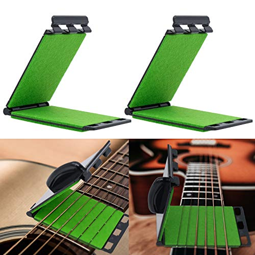 2 Piezas Limpiador de Cuerdas de Guitarra, Limpiador de