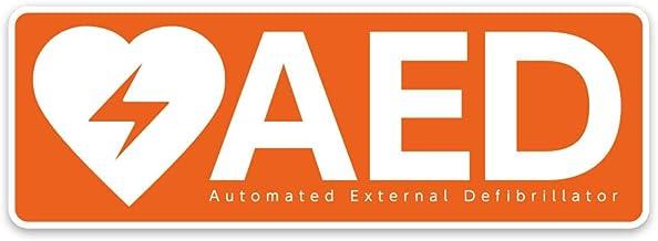 AED専門店クオリティー AED 自動体外式除細動器 設置ステッカー AED 設置シール 1609【屋外・屋内両用】