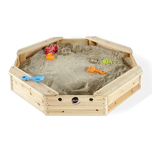 Plum Outdoor Play Octagonal Wooden Sand Pit