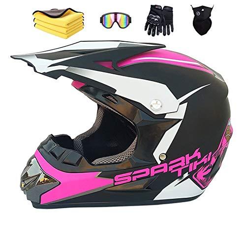 avis casques moto professionnel Casque moto cross Wbeiba Casque intégral officiel pour homme ECEDH Enduro Quad Motocross …