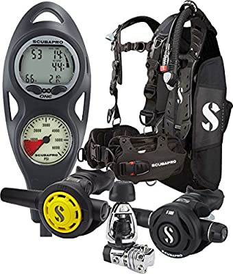 Scubapro Hydros BCD Scuba Diving Package (Medium)