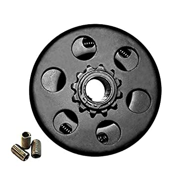 Go Kart Clutch Trkimal Centrifugal Clutch 12 Tooth for Mini Bike Engine Up to 6.5 HP 3/4  BORE #35 Chain 12T for Predator 212 CC Mini Bike Fun Kart GC160 GC190 GX120 GX140 GX160 GX200