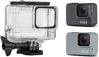 Linghuang Carcasa Impermeable para GoPro Hero 7 Silver/White la Funda Protectora Incluye Soporte y Tornillo para la cámara de acción (Incompatible con GoPro Hero 7 Black)