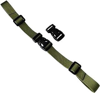 General Backpack Buckle Adjustable Belt Backpack Belt-Grass Green