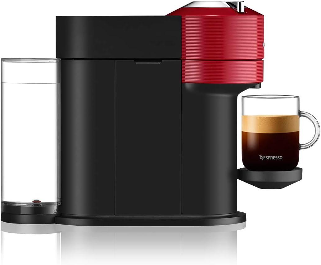 Nespresso Vertuo Next XN910N Cafeti/ère /à Capsules Machine Espresso Krups Caf/é Diff/érentes Tailles 5 Tailles Tasses Technologie Centrifusion Chauffage 30 secondes Wifi Bluetooth Noir Mat