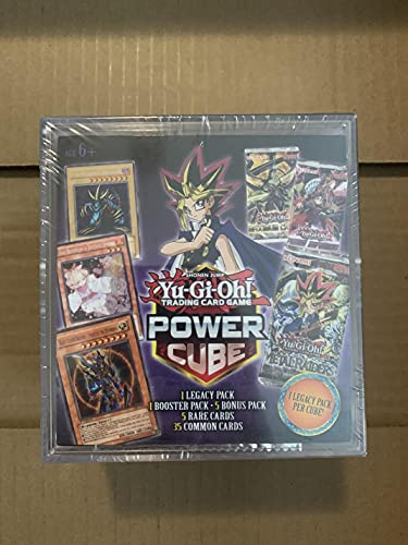 Yu-Gi-Oh! Trading Card Game Power Cube 1 Legacy Pack 1 Booster Pack-5 Bonus Pack 5 Rare Cards 35 Common Cards