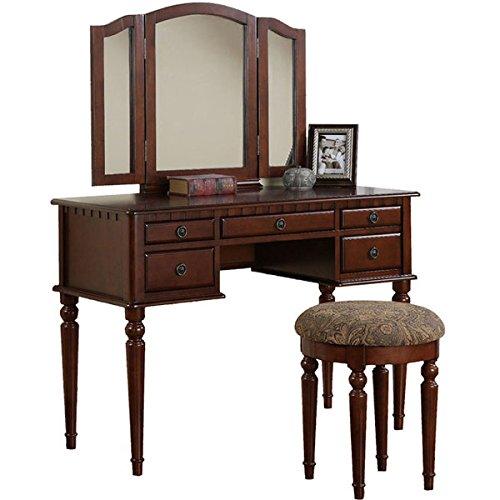 check out 51232 c7564 Antique Makeup Vanity: Amazon.com