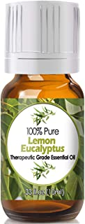 Lemon Eucalyptus Essential Oil for Diffuser & Reed Diffusers (100% Pure Essential Oil) 10ml