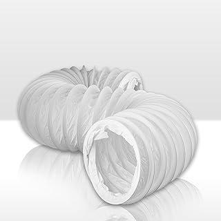 Flexibler PVC Schlauch Flexschlauch 1m , rund Durchmesser 125 Awenta 125 mm , 100 cm