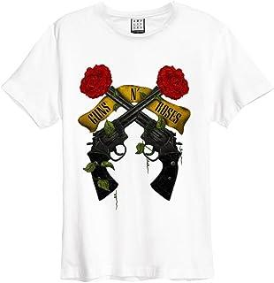 GUNS N ROSES ガンズアンドローゼズ SHOOTING ROSES/Amplified( ブランド ) / Tシャツ/メンズ 【公式/オフィシャル】