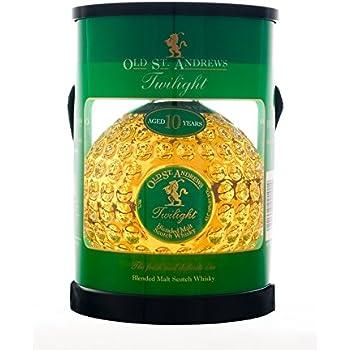 Old St. Andrews Twilight 10 Year Blended Malt Scotch Whisky Tube Pack, 70 cl