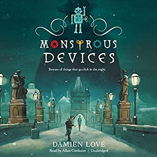 Monstrous Devices audiobook cover art