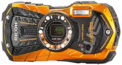 Ricoh WG-30w flame orange Digital Camera