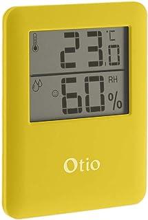 Thermomètre/Hygromètre intérieur magnétique - Jaune - Otio