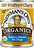 Newman's Own Organics Turkey Dinner For Dogs, 12.7-Oz (Pack Of 12)