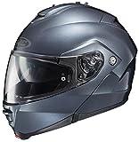 HJC IS-MAX II Anthracite Modular Dual Visor Flip Up Motorcycle Helmet L