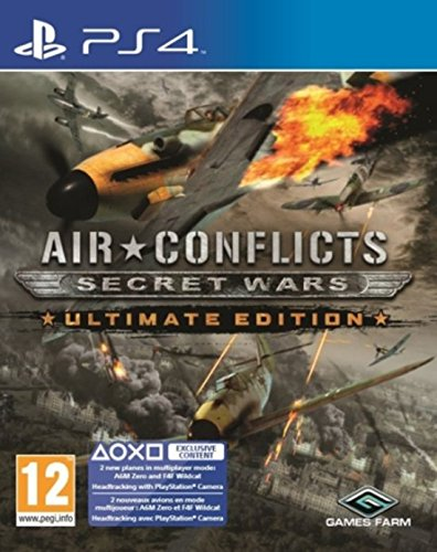 Air Conflicts: Secret Wars - Ultimate Edition - Exclusive Content Ps4- Playstation 4