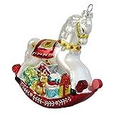 Gisela Graham Clásico Estilo Antiguo árbol de Navidad Decoración colgante Caballito Balancín