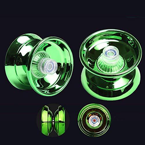 YoYo, Zorara YoYo Ball, Yoyós Toy, Yoyo Professional, Responsives Yo-yo, Magic Yo Yo Responsive Yoyos para Niños y Adultos, Juguete de Desarrollo de Coordinación Ojo-mano para Niños, Verde