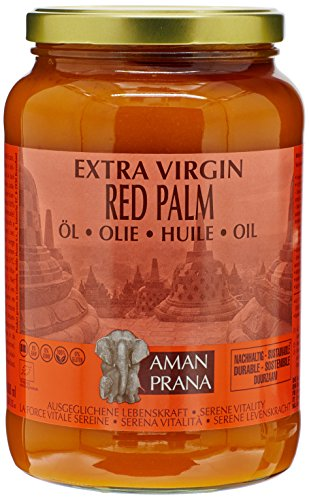 Aman Prana Huile de Palme Rouge Extra-vierge Bio