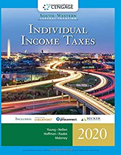South-Western Federal Taxation 2020: Individual Income Taxes (Intuit ProConnect Tax Online 2020 & RIA Checkpoint 1 term (6 months) Printed Access Card)