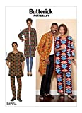 Butterick Patterns Misses'/Men's Coat, Tunic and Pants Sewing Pattern, XM (SML-MED-LRG)