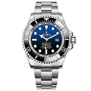 Fashion Shopping Rolex Sea Dweller Deepsea Blue Dial Oyster Bracelet Stainless Steel Mens 126660