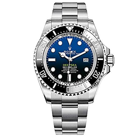 Fashion Shopping Rolex Sea Dweller Deepsea Blue Dial Oyster Bracelet Stainless Steel Mens 126660