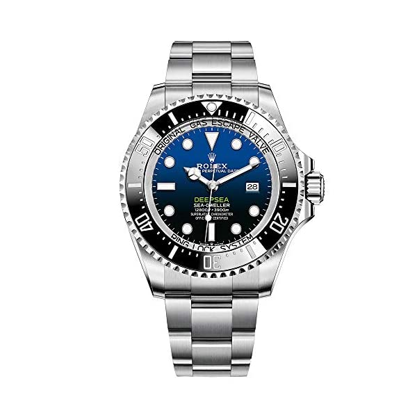 Fashion Shopping Rolex Sea Dweller Deepsea Blue Dial Oyster Bracelet Stainless
