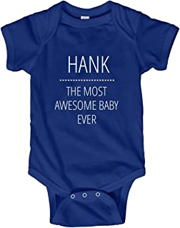 Hank Most Awesome Baby Ever: Infant Bodysuit