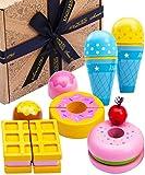 Jaques of London EIS Spielzeug | Perfekt Montessori Spielzeug | Qualität Holzspielzeug ab 3 4 5 6 Jahre | Kinder Küchenzubehör | Seit 1795