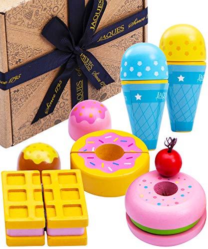 Jaques von London EIS Spielzeug | Perfekt Montessori Spielzeug | Qualität Holzspielzeug ab 3 4 5 6 Jahre | Kinder Küchenzubehör | Seit 1795