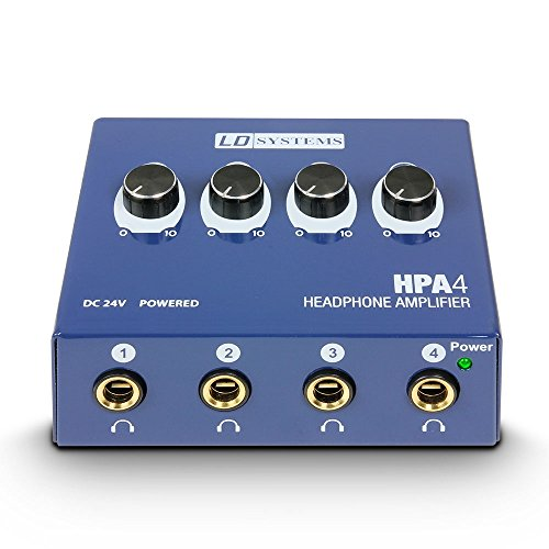 Ld Systems LDHPA4 Amplificador de Sistema de Audio Y Megafonía