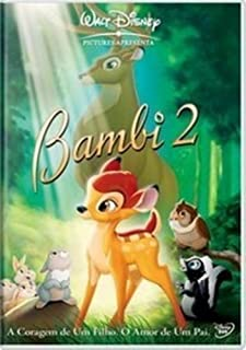 DVD Disney Bambi 2 [ Bambi and the Great Prince of the Forest ] [ Brazilian Edition ] [ Audio and Subtitles in English + Portuguese + Spanish ]