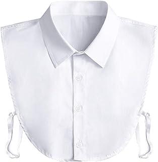 Fake Collar Detachable Dickey Collar Blouse Half Shirts...