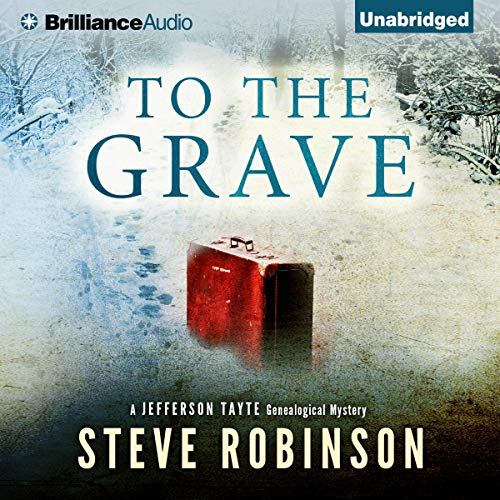 To the Grave Audiobook By Steve Robinson cover art