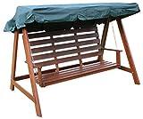 Woodside Green 3 <span class='highlight'>Garden</span> Seater <span class='highlight'>Swing</span> Chair Replacement Canopy Spare Cover
