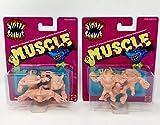 M.U.S.C.L.E. Street Sharks 90's TV Cartoon Complete Set Big Slammu, Slash, Streex, Ripster,Dr. Piranoid & Jab