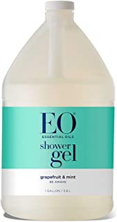 EO Products Soothing Botanical Shower Gel Refill, Grapefruit and Mint, 128 Ounce