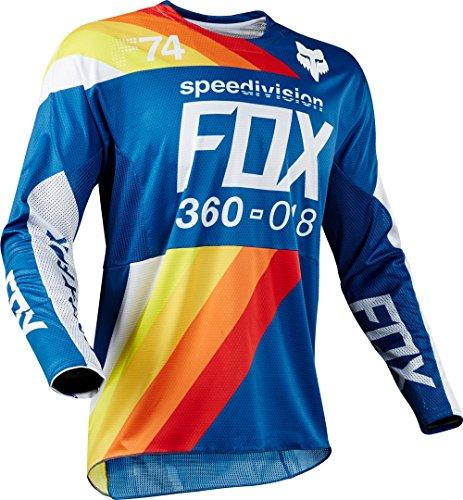 Fox Jersey 360 Draftr, Blue, Größe L