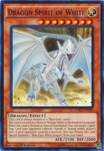 YU-GI-OH! - Dragon Spirit of White (LDK2-ENK02) - Legendary Decks II - 1st Edition - Common