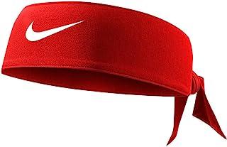 Nike Unisex-Adult Headband N.000.3706.608.OS, Red, White, One Size