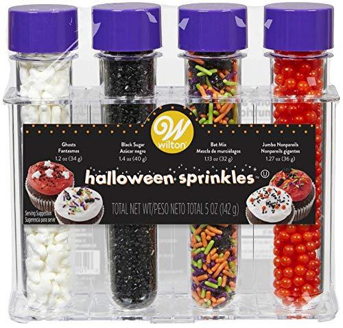 Food Items Sprinkles Test Tube Halloween, us:one Size