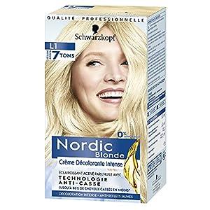 Schwarzkopf - Nordic Blonde L1 Aclarante Intensivo – Coloración permanente sin amoníaco – Aclara hasta 7 tonos - Con aceite activador&OmegaPLEX