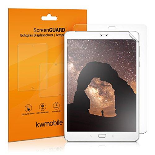 kwmobile 2X ASUS ZenPad 3S 10 (Z500M) Folie - Full Screen Tablet Schutzfolie für ASUS ZenPad 3S 10 (Z500M) klar