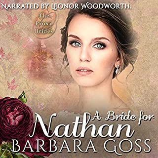 A Bride for Nathan audiobook cover art