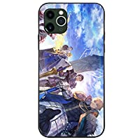 Fate/stay night Heaven's Feel iPhoneケース,ギルガメッシュエミヤ オルタ tpu薄型耐衝撃スマホケース iphone7 8 X 11 アニメファン