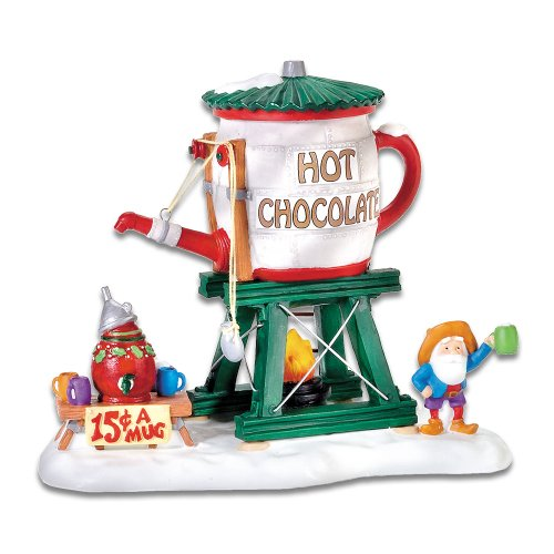 Department 56 North Pole Village Hot Chocolate Tower ...